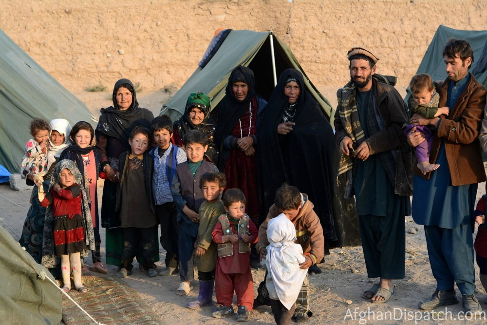 Internally displaced refugees in Afghanistan