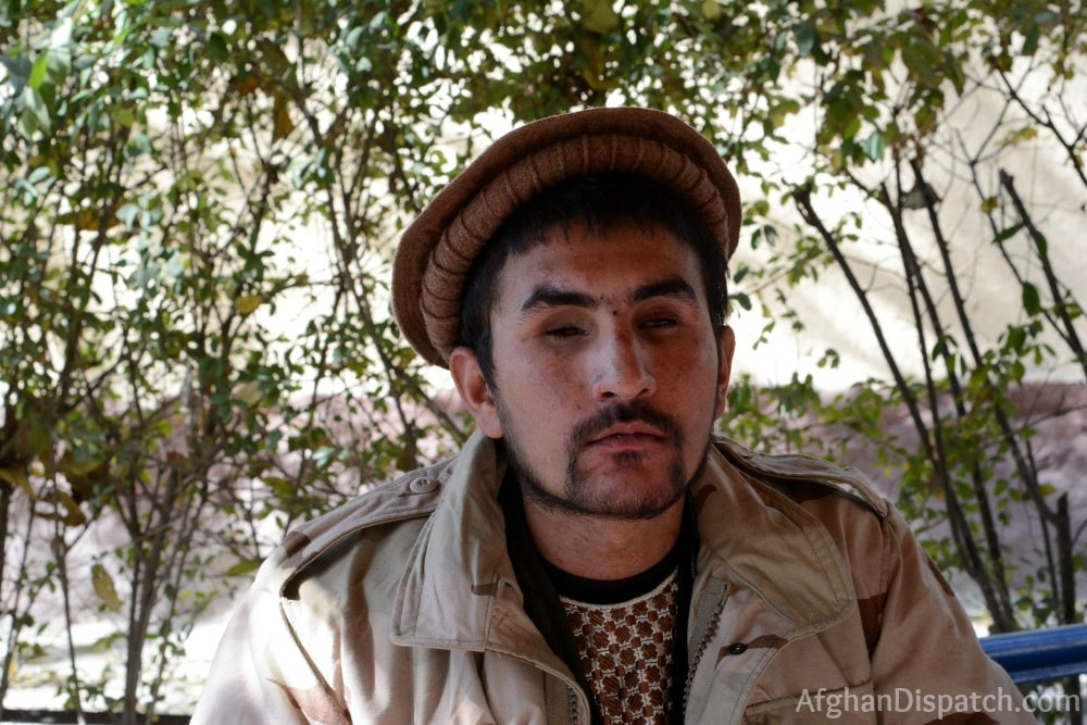 Victims of war, the story of young Afghan soldier Najibullah